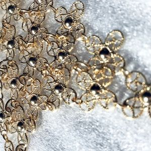 Jewelry - Gold net necklace